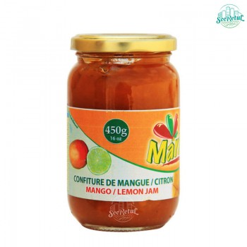 Confiture Mangue Citron