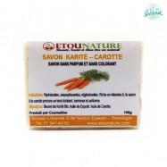 Savon Karité Carotte 150g