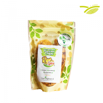 Chips de bananes plantains (50g)