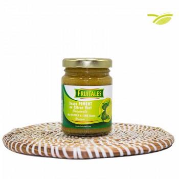 Sauce piment au Citron Vert 100g