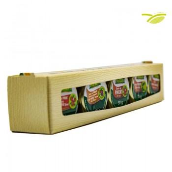 Boîtes d'épices